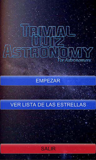 Trivial Quiz Astronomy
