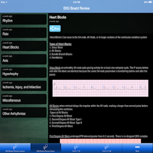 Ekg review pance blueprint apps on google play screenshot image malvernweather Image collections