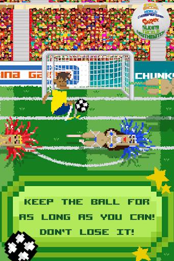 Brazil Soccer Sliding Tackle