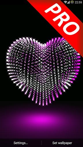 3D Valentine Day Heart PRO