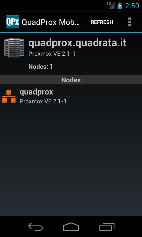 QuadProx Mobile - screenshot