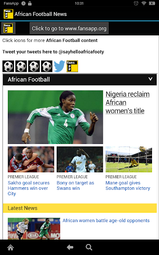 African Football News FansApp