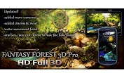 Fantasy Forest 3D Pro lwp Додатки для Android screenshot