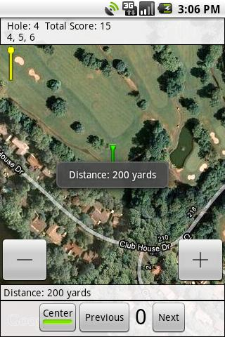 SimpleGolfGps- screenshot