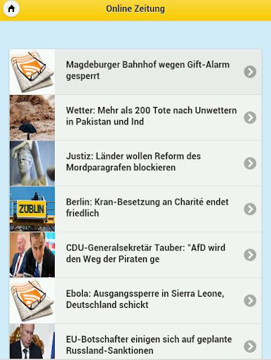 【免費新聞App】Online Zeitung-APP點子