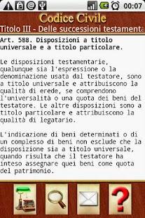 Codici Italiani- screenshot thumbnail