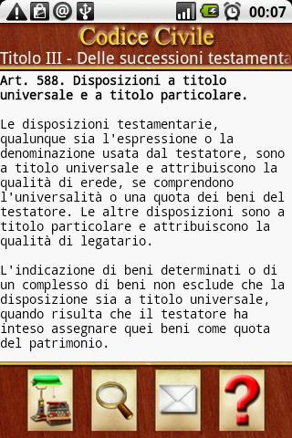 Codici Italiani- screenshot