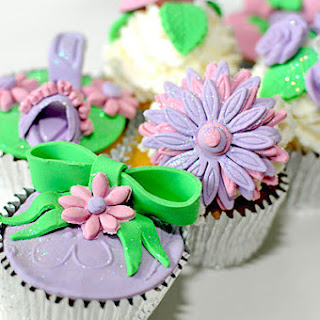 Sparkly Cup Cakes