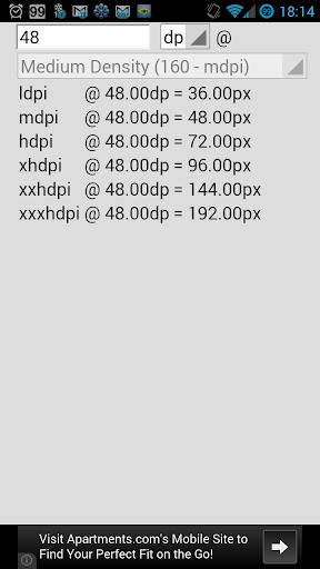 Pixel Calc
