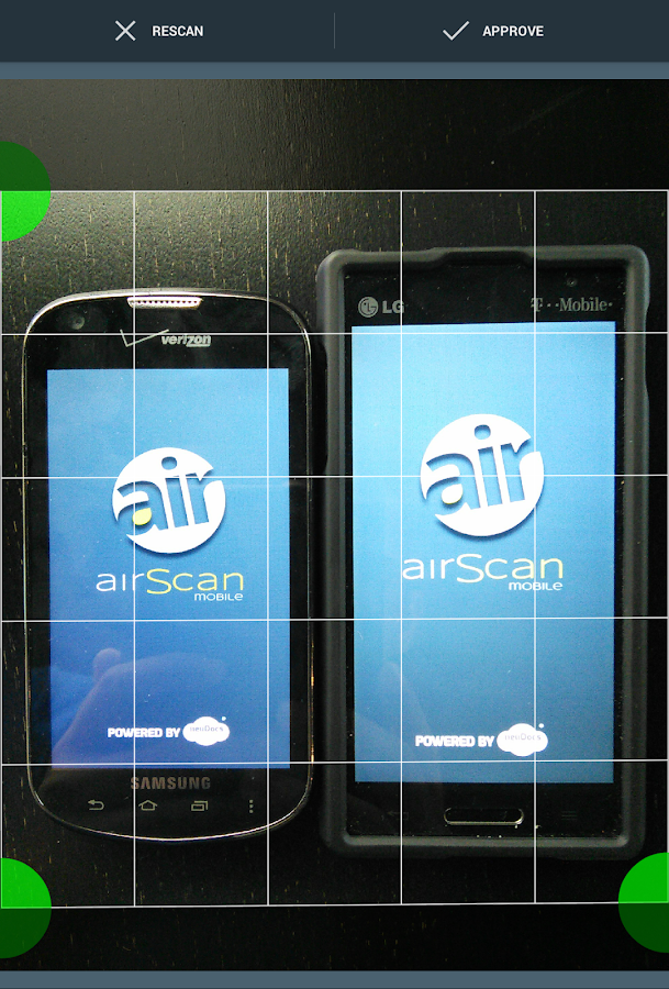 airScan mobile - PDF Scanner - screenshot