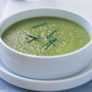 Sweet Green Pea Soup