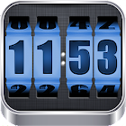 3D Rolling Clock BLUE icon