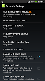 Super Backup : SMS & Contacts - screenshot thumbnail