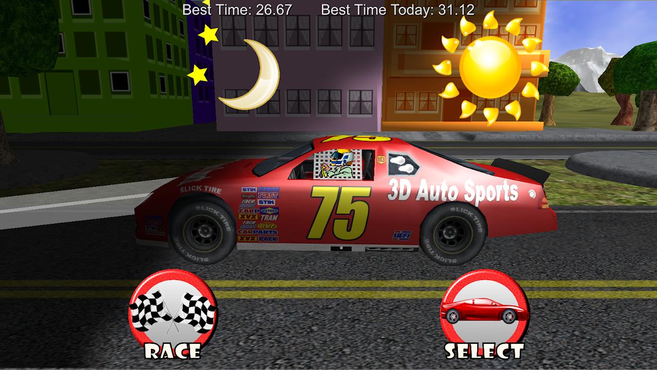 car race chase racing kids screenshot