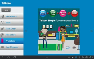 Screenshot of Telkom