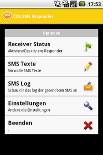 COL SMS Responder - screenshot thumbnail