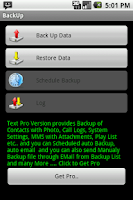 Screenshot of BackitUp - Free