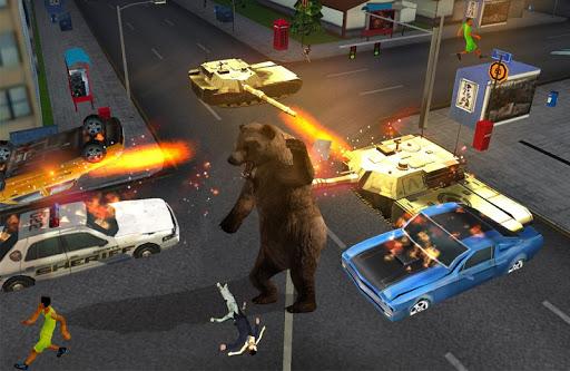 熊攻擊城市