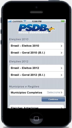 PSDB Dados Eleições