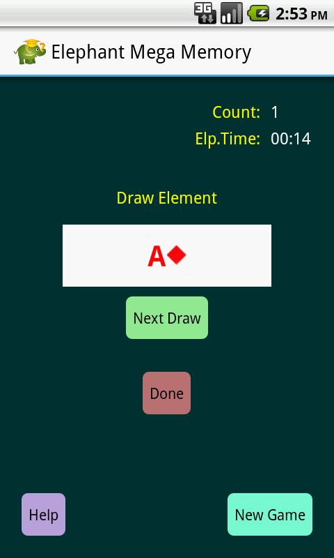 Elephant Mega Memory Pro - screenshot
