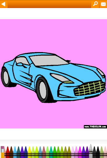 Vehicles, Cars, Trucks Coloring by TheColor.com for PC