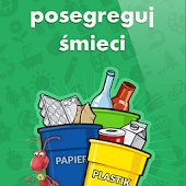 Posegreguj śmieci