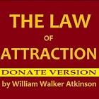 The Law of Attraction DONATE icon