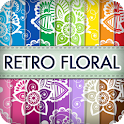Retro Floral Wallpapers icon