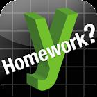 y Homework - Math Solver icon