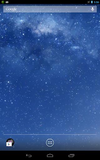 Galaxy動態桌布