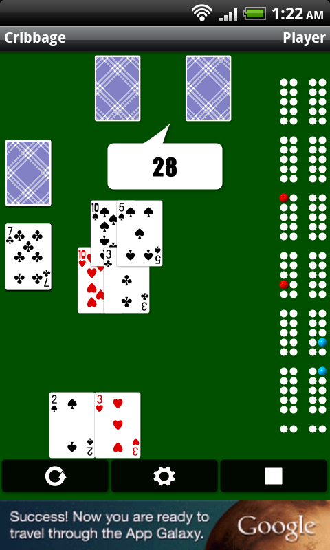 Cribbage - screenshot