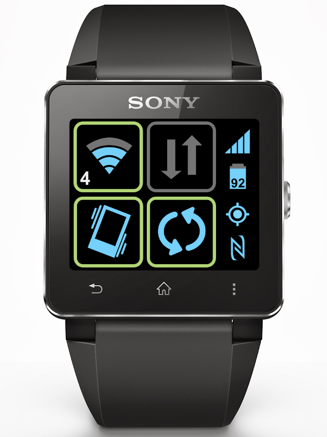 Toggles for SmartWatch- screenshot