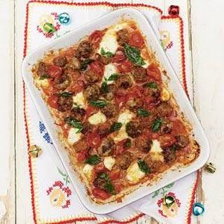 Jamie Oliver`s gehakballetjes met kaas uit de oven