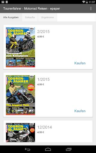 Tourenfahrer-Motorrad - epaper