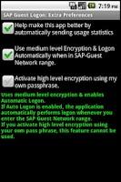Screenshot of SAP Guest Logon