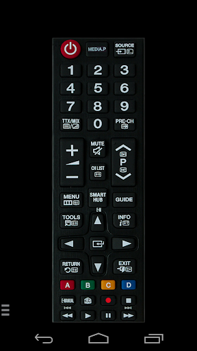 TV (Samsung) Remote Control 2.2.2 screenshots 1