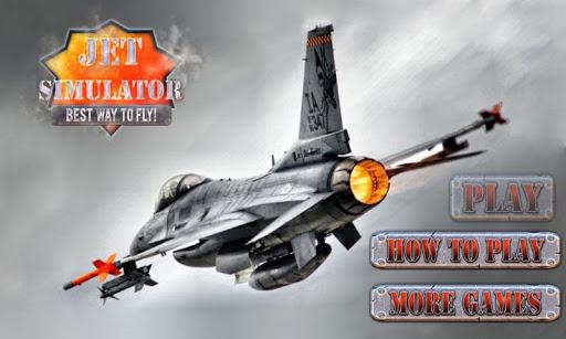 F18 Jet Fly Simulator 3D