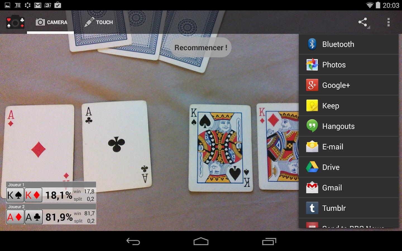 calculate odds poker