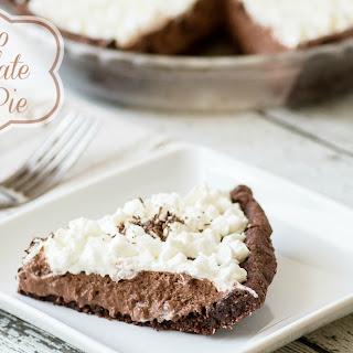 Paleo Chocolate Silk Pie