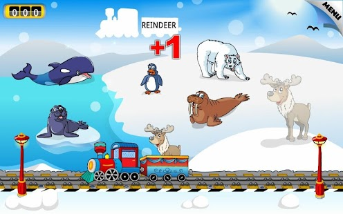 Preschool Learning Games Train - screenshot thumbnail
