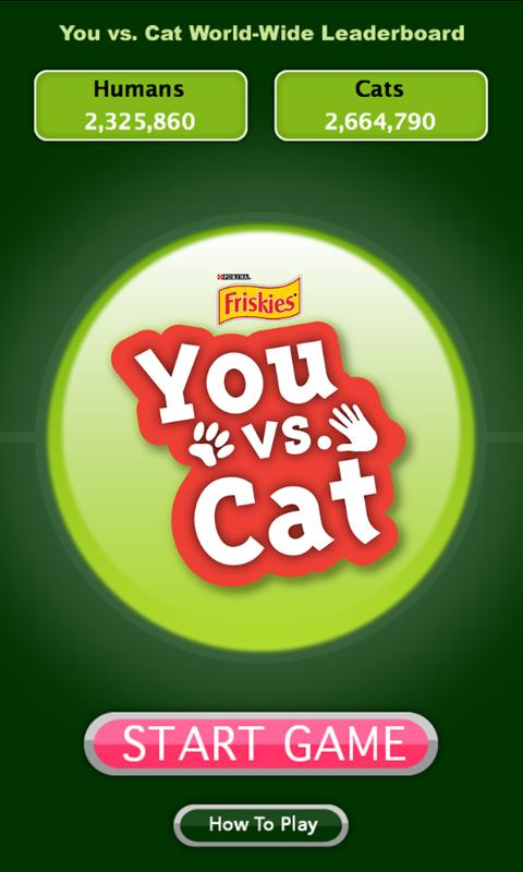 Friskies® You vs. Cat - screenshot