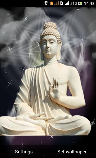Lord Buddha Live Wallapaper