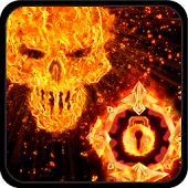 GO Locker Inferno Skull Theme