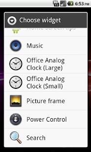 Office Analog Clock - Donate- screenshot thumbnail