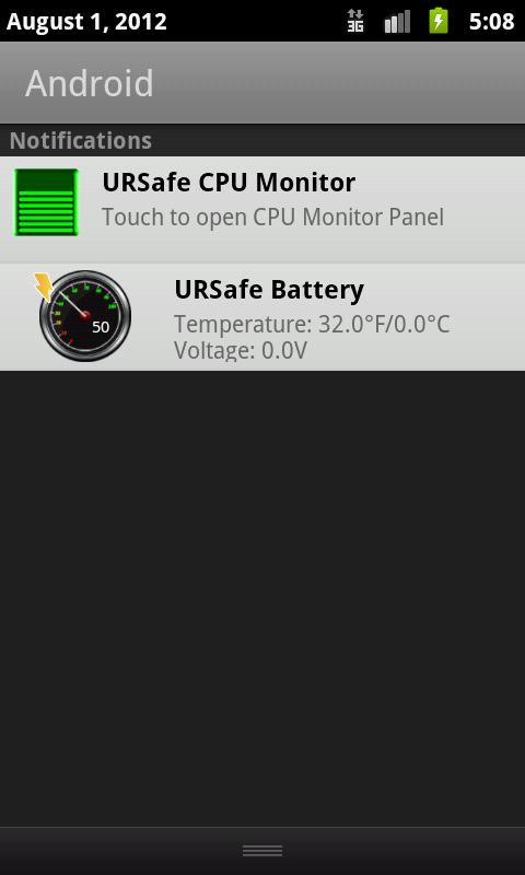 URSafe Battery Meter - screenshot