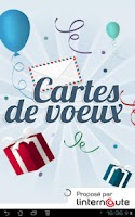 Screenshot of Cartes de voeux