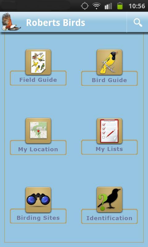 Roberts Multimedia Birds of SA- screenshot