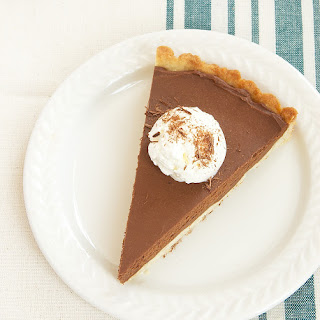 Chocolate Mascarpone Tart.