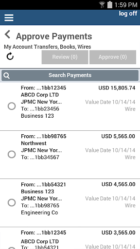 J.P. Morgan ACCESS Mobile  screenshots 2