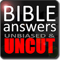 Bible Answers Unbiased & UNCUT logo